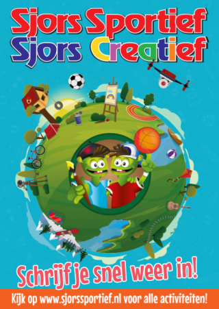 Sjors Sportief & Creatief: schrijf je snel weer in!