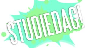 Reminder: studiedag a.s. vrijdag