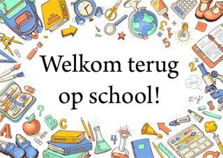 Tot morgen! Terug naar school!
