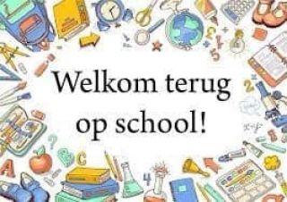 Welkom terug op school!